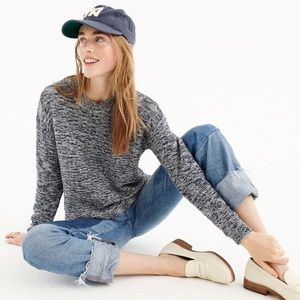 J. Crew Collection • Marled Crewneck Sweater